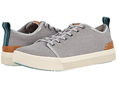 TOMS TRVL LITE Low (Drizzle Grey Heritage Canvas) Men