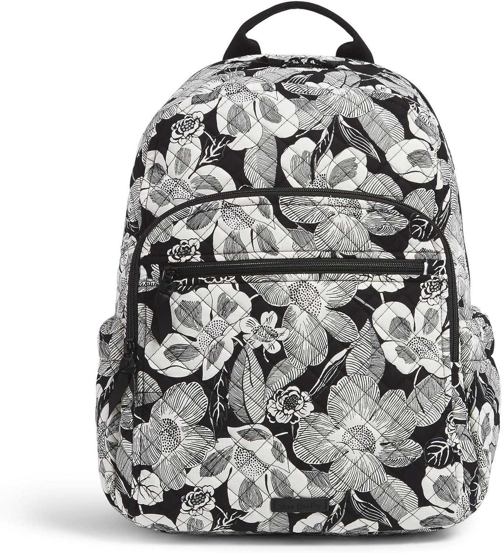Vera Bradley Women's Signature Cotton Campus Backpack, Regal Rosette, One Size