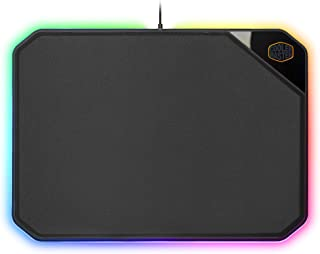 Cooler Master MPA-MP860-OSA-N1 Dual-Sided Gaming Mouse Pad with RGB Illumination and Software Customization by