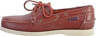Sebago Docksides Portland - Chaussure Bateau Homme Rouge/Blanc Rouge 43