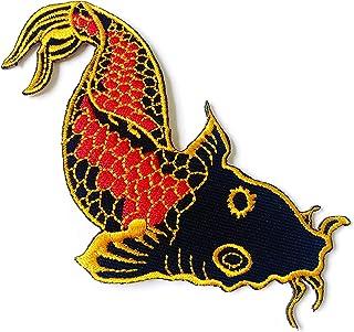 Japanischer Koi-Karpfen Fisch Tattoo Japan Liebe Biker Motor