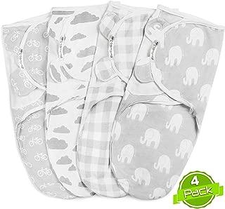 BaeBae Goods Swaddle Blanket Set | Elephants Collection