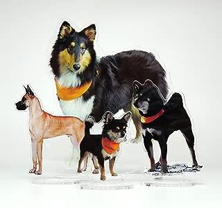 ドッグ・ギア メモリアル アクリルフィギュア 高精細フルカラー印刷 SSサイズ(50×70mm)「愛犬の姿を永遠の思い出に」