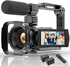 دوربین فیلمبرداری دوربین فیلمبرداری 4K Ultra HD YouTube Vlogging Camera 48MP IR Night Vision دوربین ضبط دوربین دیجیتال 16X بزرگنمایی دیجیتال 3 اینچ IPS صفحه لمسی دوربین فیلمبرداری ویدیویی با میکروفون