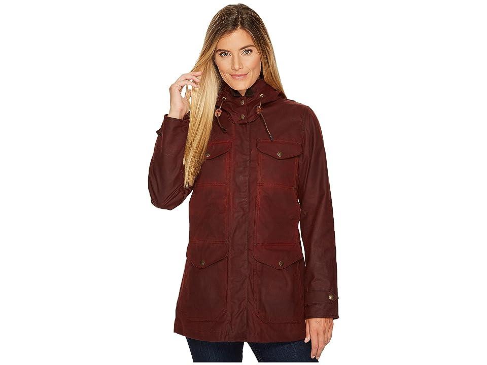 Filson Moorcroft Jacket (Burgundy) Women