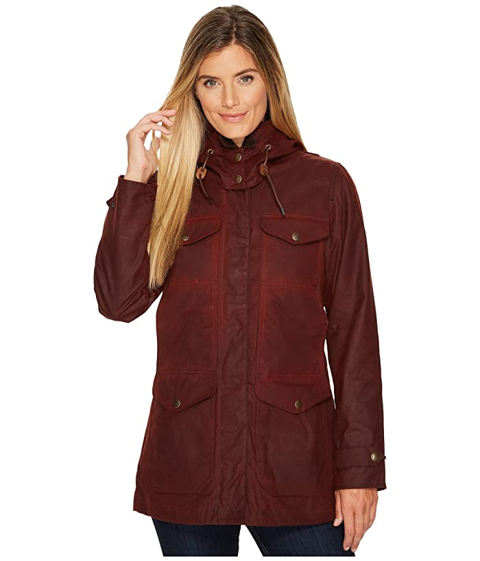 Filson Moorcroft Jacket (Burgundy) Women