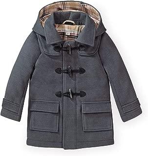 Boys' Toggle Duffle Coat with Detachable Hood
