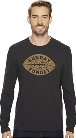 Life is Good Sunday Funday Long Sleeve Smooth Tee