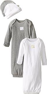 Unisex Sleeper Gown & Hat Set, One Size, 0-6 Months, 100%...