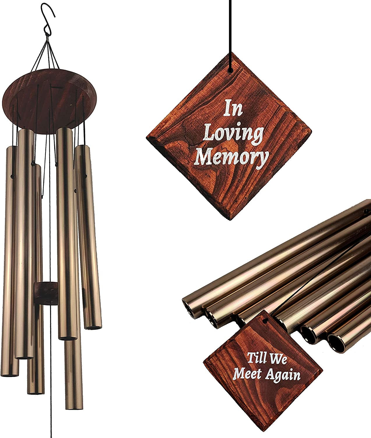 MAGARA MEMORIES Memorial Wind Chimes for Loss Loved Credence of Win One Industry No. 1