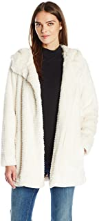 Vince Camuto Women's Hooded Faux Fur