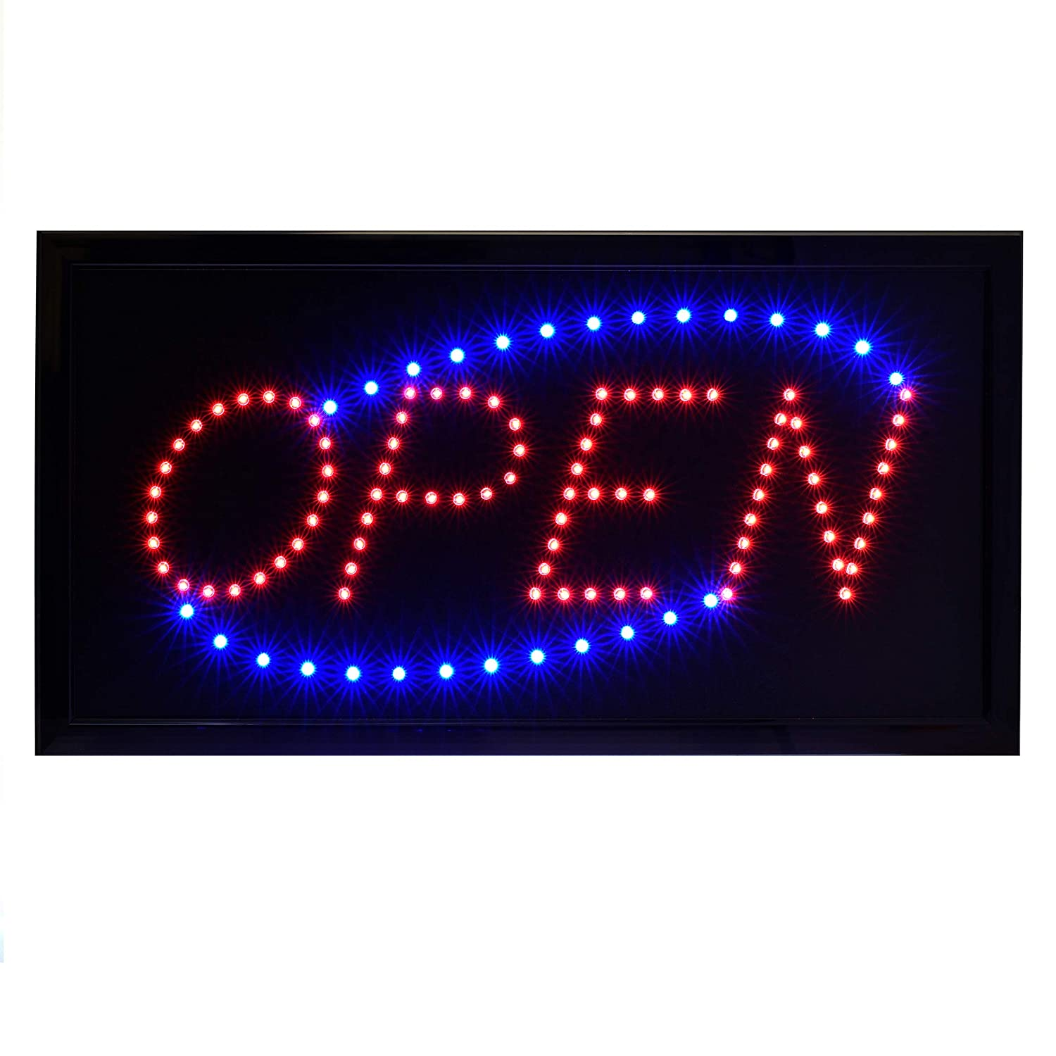 OFFicial Alpine Industries LED Open Neon Sign 2021 Business Electronic - L for