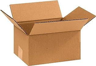 "BOX USA B975100PK Corrugated Boxes, 9"" L x 7"" W x 5"" H, Kraft (Pack of 100)"
