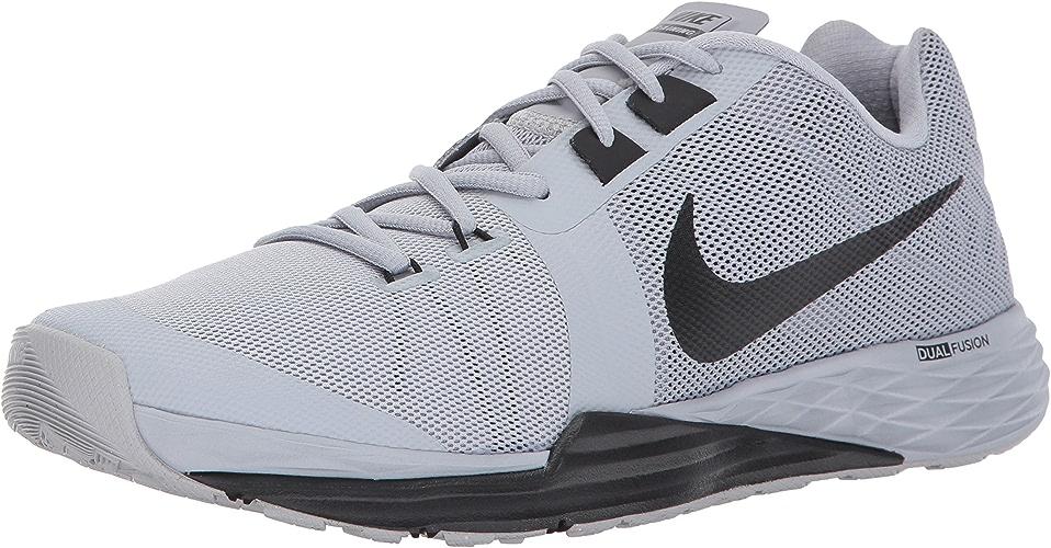 NIKE Men's Train Prime Iron DF Cross Training chaussures, Wolf gris noir blanc, 7 D(M) US