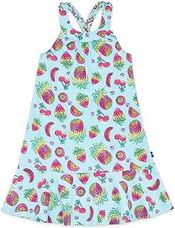 Big Girls' Patterned Sleeveless Dress