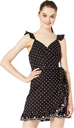 Black Polka Dot Embroidery