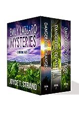 Emily Lazzaro Mysteries 3-book Bundle: Dangerous Changes, Dangerous Delays, Dangerous Questions Kindle Edition