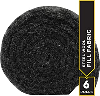 Xcluder Rodent Control Steel Wool Fill Fabric, 6 Rolls