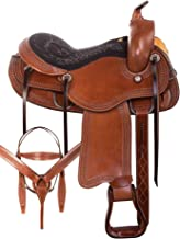 AceRugs Walking Horse Saddle GAITED Bars Western Endurance Riding Pleasure Trail All Purpose TACK Package Size 15 16 17 18