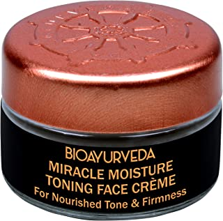 BIOAYURVEDA Miracle Moisture Toning Face Cream with Red Madder and Saffron Oil 20gm