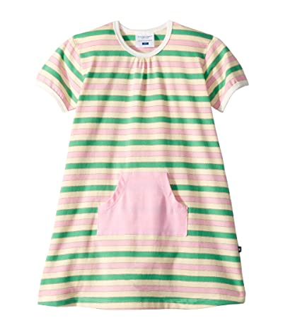Toobydoo Pocket Play Dress (Infant/Toddler) (Glittery Stripe) Girl