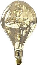Calex XXL Organic Evo - Champagne - Led lamp - Ø165mm - Dimbaar - E27 Fitting - 6W 1800K 100lm - Energielabel B