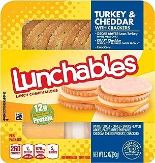Lunchables Turkey Cheddar & Crackers (3.2 oz Tray)