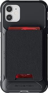 Ghostek Exec Designed for iPhone 11 Wallet Case Magnetic Leather Card Holder Cover Slim Pocket Slot Holds 4 Credit Cards Military Grade Shockproof for 2019 Apple iPhone 11 (6.1