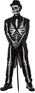 Men's Costumes Bone Chillin Skeleton Costume Tuxedo