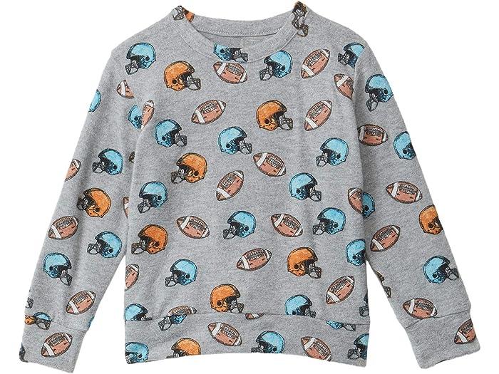 Chaser Kids Boys Love Knit Long Sleeve Crew Neck Pullover Toddler//Little Kids