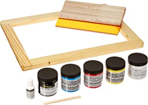 Jacquard Products Opaque Screen Printing Kit, Multicolor