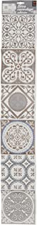 Plage Decoración Adhesiva para Azulejos, Vinilo, Beige, 15x15 cm, 1 tablón de 6 baldosas adhesivas