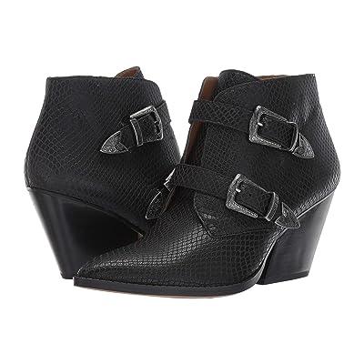 Franco Sarto Granton (Black Leather) Women