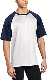 Kanu Surf Men's Short Sleeve UPF 50+ Swim Shirt (Regular & Extended Sizes), Contrast