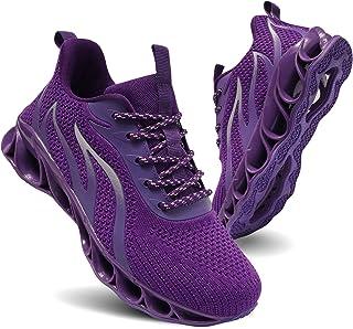 Women's Road Running Shoes Walking Athletic Tennis Non Slip Blade Type Sneakers