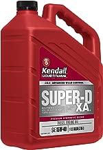Kendall 1077886-3PK Super-D XA 15W40 Diesel Engine Oil with Liquid Titanium (eXhaust Advantage), 1 gallon, 3 Pack