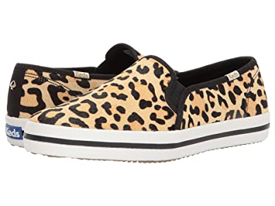 Keds x kate spade new york Double Decker (Tan/Black Printed Pony) Women