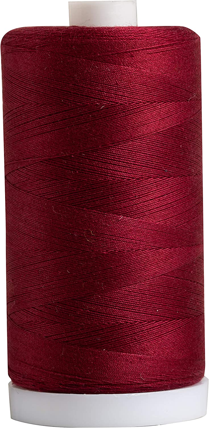 New Shipping Free Shipping Connecting Threads 100% Cotton Thread - Spool Merlot 1200 Directly managed store Yard
