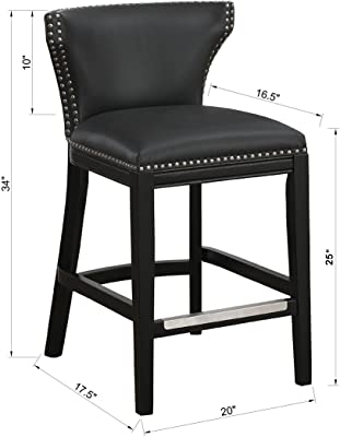 Pleasant Amazon Com Safavieh Mercer Collection Seth Clay Leather Bralicious Painted Fabric Chair Ideas Braliciousco