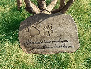 Petorial Pet Memorial Stone Plaque (Irregular shape)