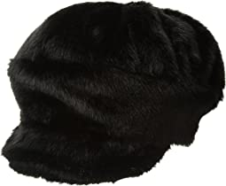 Faux Fur Baker Hat