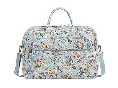 Vera Bradley Iconic Grand Weekender Travel Bag (Floating Garden) Weekender/Overnight Luggage