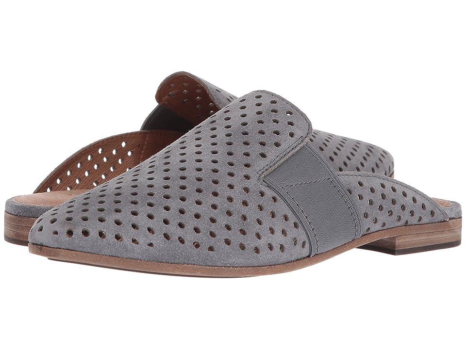Frye Terri Perf Gore Mule (Jeans) Women's Slip on Shoes