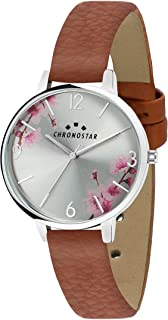 Chronostar R3751267510 Glamour Year Round Analog Quartz Brown Watch