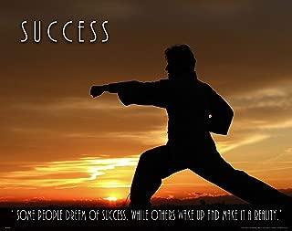 Apple Creek Martial Arts Class Motivational Poster Art Print 11x14 Karate Judo Taekwondo MMA Black Belt