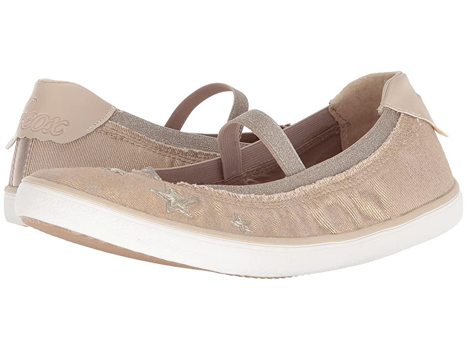 Geox Kids Kilwi 16 (Big Kid) (Beige) Girl