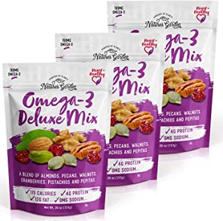 Nature's Garden Omega-3 Deluxe Mix - 26 oz. (Pack of 3)