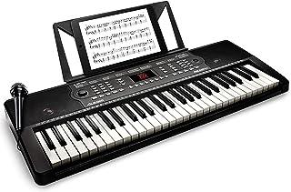 Alesis Melody 54 - Tastiera Musicale, Portatile, Pianola a 54 Tasti con Casse Integrate, Microfono, Leggio e Potenti Funzi...