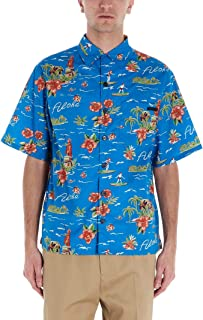 PRADA Luxury Fashion Mens UCS339S2011VY1F0013 Light Blue Shirt |