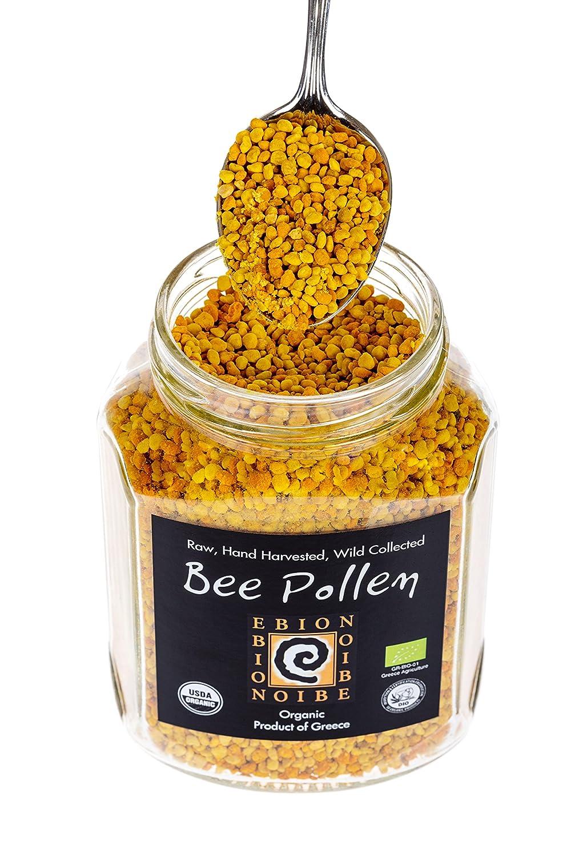 Wild Raw Organic Superfood Greek Untreated Unheated Pollen Max 48% Award OFF - Bee